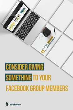 Even though you've created a Facebook Group that has a certain theme, you can talk about other topics from time to time. Diversify a bit. #FacebookGroupTips #DrSoft About Facebook, Facebook Marketing, Marketing Ideas, Writing, Group, Tips, Advice, Being A Writer, Letter