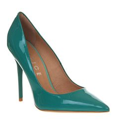 Office On Top Jade Patent Leather - High Heels