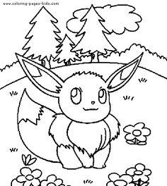 color pages pokemon pokemon color page cartoon characters coloring pages color plate - Coloring Pages Pokemon Characters