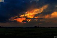 Sonnenuntergang bei Abbenrode am 22. Mai 2014  #Sonnenuntergang #Abbenrode #Gewitter #Wolken #Clouds #Sunset #Sunrise