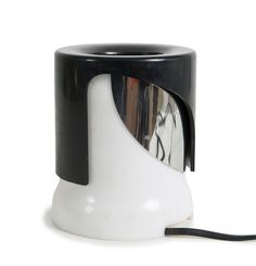 Joe Colombo; Plastic and Chromed Metal 'KD 24' Table Lamp for Kartell, 1964.