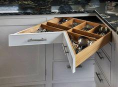 40 ideias geniais para planejar uma cozinha pequena (De Nicole Nunes - homify)