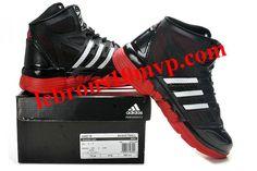 super popular 753b6 68365 Adidas Stupidly Light Black White Red - Derrick Rose Shoes