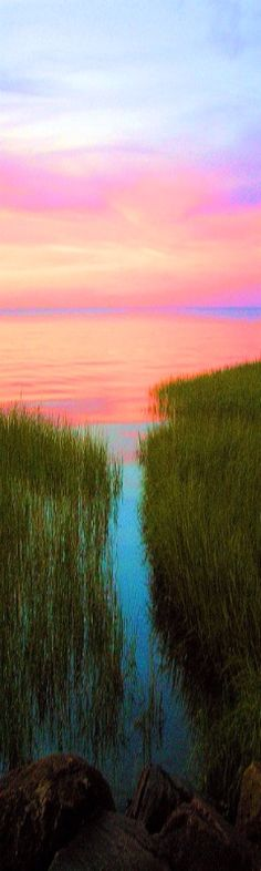 sunset at Paine's Creek, Brewster, Cape Cod