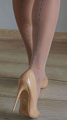 47 Ideas heels hot nylons for 2019 Hot Heels, Sexy Legs And Heels, Sexy High Heels, Pantyhose Heels, Stockings Heels, Stockings Lingerie, Stilettos, Pumps Heels, Stiletto Heels