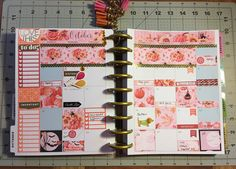October Monthly spread happy planner, Plan with me