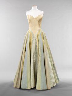 Charles James dress, 1947.