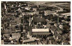 Luftfoto over Helsingør
