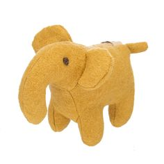 Elephant Woolie Dog Squeak Toy Explore with me! Over the lands I like to  roam 98661050df5