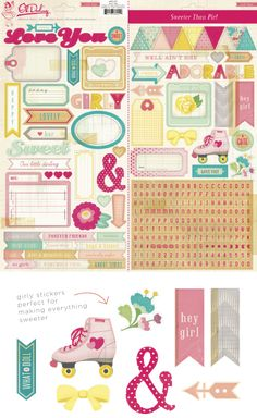 CHA 2014 Crate Paper Stickers