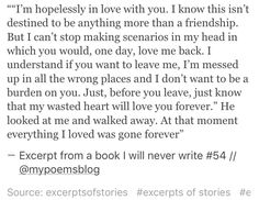 Excerpt from a book I will never write #54