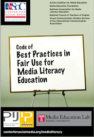 Educational Technology and Mobile Learning: A Must Read Code of Best Practices in Fair Use and Copyright