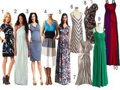 Top 10 Summer Maternity Dresses