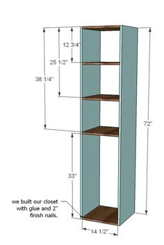 DIY with Ana White - Closet System and storage by connie.yatesbiddinger