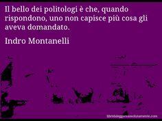 Cartolina con aforisma di Indro Montanelli (5)