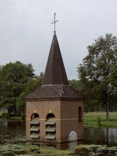 Sunken church at the University of Twente Campus. #Enschede