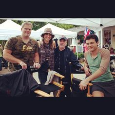 Behind the scenes on set of #BeautifulCreatures. #YAbooks #books #kamigarcia #movies