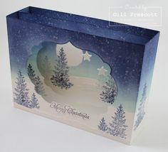 Diorama card side