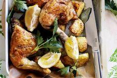 Lemon myrtle roast chicken
