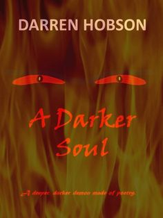 "cover to my latest ebook ""a darker soul"" #poetry"