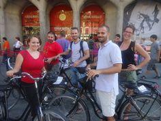 Bike tour with Gràcia City Hostel #bike #barcelona #activity #outdoor #city #street #hostel #graciacityhostel #fun