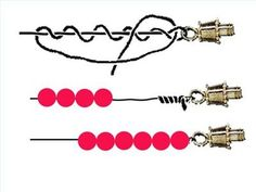make jewelry with fishing line