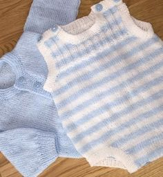 1e4e25ab5317 Baby romper and cardigan knitting project by Anne H