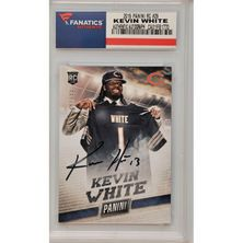 Kevin White Chicago Bears Fanatics Authentic Autographed 2015 Panini National Rookie #29 Card- Limited Edition of 599
