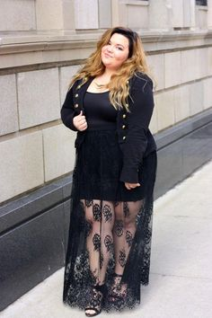 Cheap Plus Size Fashion For Women With Belly Ideas! Trouble-Free Plus Size Fashion Products - The Options - Charlene dress Plus Size Fashion Blog, Plus Size Fashion For Women, Plus Size Womens Clothing, Curvy Fashion, Girl Fashion, Fashion Outfits, Womens Fashion, Fashion Trends, Fashion 2018