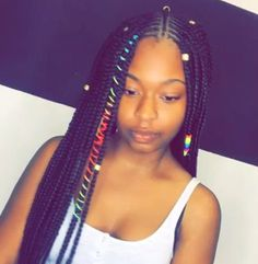 Easy Boho Hairstyle For Long Hair - 20 Trendy Half Braided Hairstyles - The Trending Hairstyle Half Braided Hairstyles, Black Girls Hairstyles, Cute Hairstyles, Hairstyles Pictures, Baddie Hairstyles, Hairstyle Ideas, Braids For Kids, Girls Braids, Big Box Braids