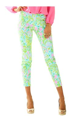 Kelly Ankle Length Skinny Pant - Lilly Pulitzer