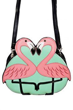 Pink Flamingo Bag / Pinup Girl Clothing