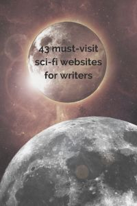 must-visit sci-fi websites for writers - SF resource cover pic