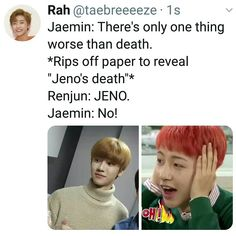 There's only one thing worse than a rapist vine Funny Kpop Memes, Kid Memes, Ten Chittaphon, Nct Life, Best Memes Ever, Dream Chaser, Just Dream, Soyeon, Facetime