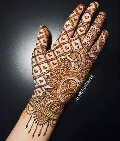Simple and easy Arabic mehndi Designs for hands - Bridal henna designs - Hand Henna Designs Full Hand Mehndi Designs, Simple Arabic Mehndi Designs, Henna Art Designs, Mehndi Designs For Girls, Mehndi Designs For Beginners, Modern Mehndi Designs, Mehndi Design Pictures, Beautiful Henna Designs, Latest Mehndi Designs