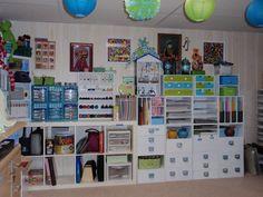Back Wall to my Craftyland Scraproom - Scrapbook.com