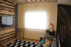 Projeto - Minha Casa (sala e copa) Instalação de Cortina na sala e na copa. Clique e leia na íntegra!