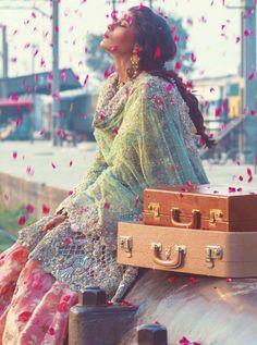 """Zara Shahjahan, Rahgeer (Traveller) , F/W 2015 """