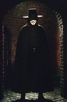 the movie V. also has Natalie Portman.great one.you will forget he is wearing a mask as you watch it.
