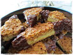 Rezepte mit Herz   ♥: Nussecken - wie vom Bäcker