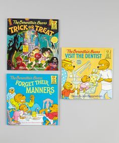 Berenstain Bears Forget Their Manners Paperback Set