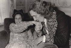Gala and Salvador Dali, 1979