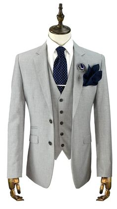 Alaska Light Grey Suit