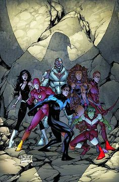 Teen Titans by Joe Benitez That's my Raven! Destroy those inferior mortals…