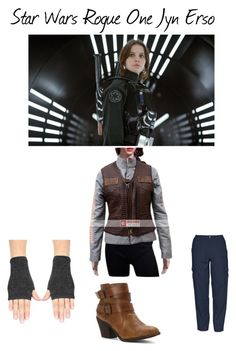 """""""Star Wars Rogue One Felicity Jones Jacket"""" by moviesjacket ❤ liked on Polyvore featuring 5.11 Tactical and Blowfish"""