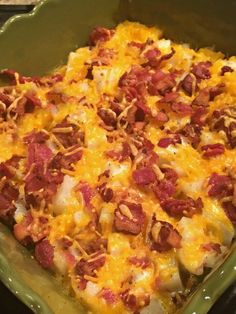 Loaded Mashed Potato Balls with Bacon Bits recipe