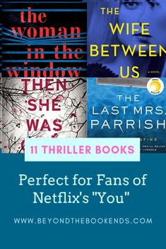 Do you love the Netflix series You? We have 11 stalker books that are perfect to read if you love a great psychological thriller. We guarantee you will be looking over your shoulder!