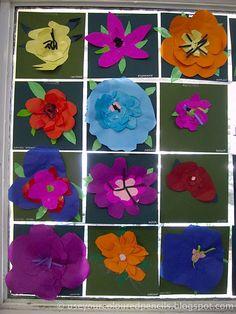 paper flowers--Georgia O'Keefe