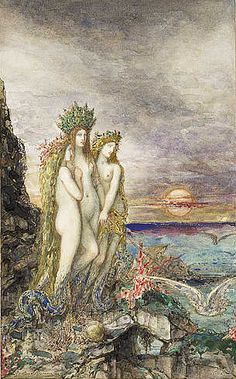 Gustave Moreau, The Sirens 1872