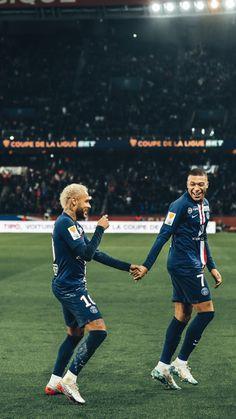 Zdjęcia Neymar i Kylian Mbappe Mbappe Psg, Neymar Psg, Football Players Photos, Soccer Players, Lionel Messi, Gareth Bale, Football Prayer, Football Neymar, Sport